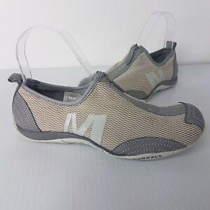 Merrell Womens Barrados Comfort Shoes SZ 37 Grey Wild Dove Performance Footwear