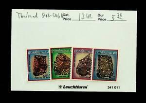 THAILAND ART 4v MH STAMPS #543-46 CV $13.40
