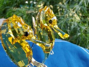 Swarovski Crystal Topaz Seahorses 5103233