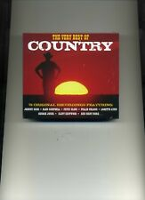 THE BEST OF COUNTRY - PATSY CLINE JIM REEVES GEORGE JONES - 3 CDS - NEW!!