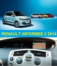 RENAULT INFORMEE 2 2014 Navigatie Europa set (9xcd) Final Version