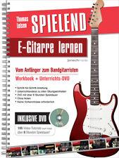 Spielend E-Gitarre Lernen (Workbook + DVD)