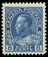 Canada 115 Mint VF NH 8¢ Unitrade $180.00 ---- Stuart Katz