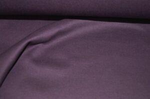 XXL Sweatshirt Stoff lila weich angerauht #01126