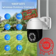 1080P WIFI IP Camera 4X Digital Zoom AI Human Detect Wireless Outdoor Camera