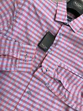 Camicie classiche da uomo rosa
