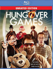 The Hungover Games (Blu-ray Disc, 2014, Unrated Comedy )*FREE SHIPPING *