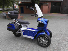Good Year ego2 Dreiradroller Trike Elektroroller Krankenfahrstuhl 25 kmh 45 kmh