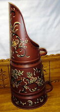 """Beautiful Vintage Toleware Scoop - Use As an Umbrella Stand - 23"""""""