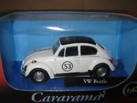 VW Beetle #53 (Herbie), Metal Model.  Cararama  1/43 Scale Car