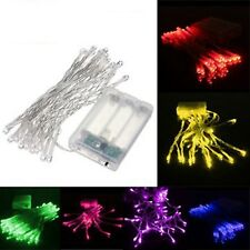 3M 30 LED Battery Powered Christmas Wedding Party String Fairy Light BLUE