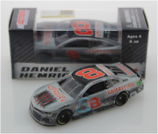 NASCAR 2019 DANIEL HEMRIC #8 DARLINGTON THROWBACK CATERPILLAR CAT 1/64 CAR