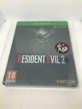 Resident Evil 2 Steelbook Edition (Microsoft Xbox One 2018 UK) Brand new