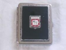 Beau porte-photos de poche ancien portant l'écusson de Madrid 5,5 cm X 4,5 cm