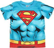 Disfraz De Superman Héroe Manga Corta Camiseta por besttrend