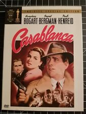 CASABLANCA The MOVIE a TWO-DISC SPECIAL EDITION on 2 DVD Set of WWII War CLASSIC