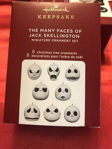 """THE MANY FACES OF JACK SKELLINGTON""2020 Hallmark Ornament Disney's Tim Burton"