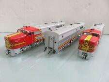 S Scale American Models Santa Fe ALCO PA-1 A-B-A Set w/Dummy B Unit Scale Model