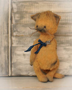 Sewing Pattern , 5,5 Inch Vintage Style Cat