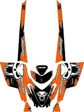 Arctic Cat M Series/Crossfire SNOWMOBILE SLED GRAPHIC KIT WRAP DECALS splat