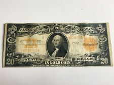 1922 $20 Gold Certificate Large Size Note Speelman White Fr 1187 - Very Nice!
