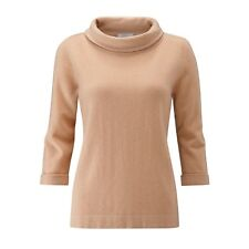 BNWT Pure Collection Cashmere Bardot Sweater - Gingerbread - UK Size 12 RRP £130