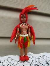 Vintage Amish Made Tribal Doll