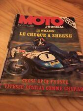 MOTO JOURNAL 1973 N° 124 trophée Million Sheene , poster Debrock Japauto ..etc