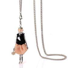 MODA Queen Collana lunga Statement Necklace bambole CIONDOLO MIA