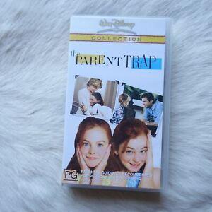 THE PARENT TRAP VHS Video Tape CHILDREN Adventure FAMILY Comedy ROMANCE Drama
