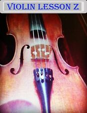 Violin Lesson Z DVD For  Beginners! Learn to play the Violin! W Bonus Item LOOK!