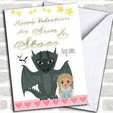 Got Daenerys Cute Game Of Thrones Valentines Personalized Greetings Card