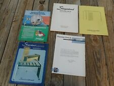 1970's Slingerland By Deagan Drum Company Letter And Misc Catalogs