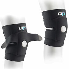 UP Neoprene Open Patella One Size Target Compression Custom Fit Knee Support