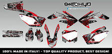 KIT ADESIVI GRAFICHE ACE OF SPADES HONDA CRF 450 2008  DECALS DEKOR