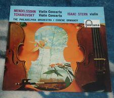 MENDELSSOHN / TCHAIKOVSKY VIOLIN CONCERTOS UK LP FONTANA CFL 1045 ISAAC STERN