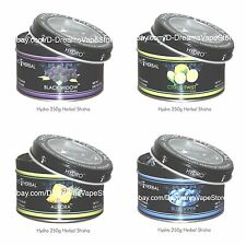 Lot of 12 jars 250g Hydro Herbal Hookah Shisha Molasses- Tobacco & Nicotin FREE