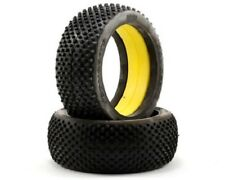 JConcepts cross hairs 1/8 buggy tires (yellow/med compound) NIP JCO301000
