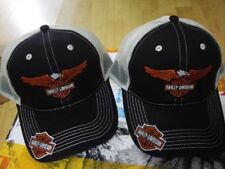 cappello baseball moto HARLEY DAVIDSON AQUILA CUSTOM BIKER MOTO berretto 883 c16313b21e59