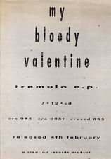 26/1/91 Pgn22 Advert: My Bloody Valentine tremolo Ep Creation Records 7x5