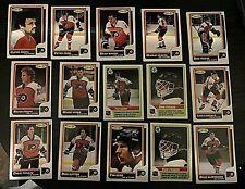 1986-87 O-Pee-Chee  PHILADELPHIA FLYERS 15 card team  lot