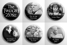 Science Fiction - Twilight Zone Pin Back Button Set