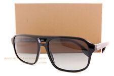 Brand New Burberry Sunglasses BE 4320 300111 Francis Black/Grey Gradient For Men