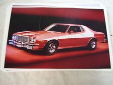 1976 FORD GRAND TORINO   LIKE  STARSKY & HUTCH    11 X 17  PHOTO  PICTURE