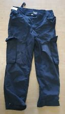 """USED Arktis Ex Police Issue Black Ripstop Combat Tactical Trousers Size 36/30"""""""
