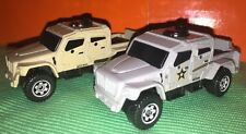Lot Of 2 Matchbox Military International Y0500 People Mover New Loose 1:64 Die C