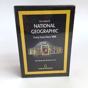 The Complete National Geographic - Every Issue 1888-2008 DVD-ROM Win Mac