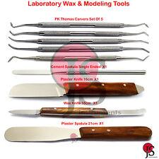 Laboratory Wax Modeling Tools Spatula Plaster Knife PK Thomas Carvers Fahenstock