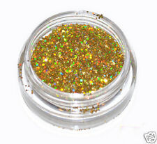Gold Laser Eye Shadow Glitter Sparkling Dust Body Face Nail MakUp