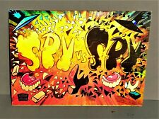 Spy Vs Spy  Hologram Chase Card # 2.  Lime Rockl. 1993.